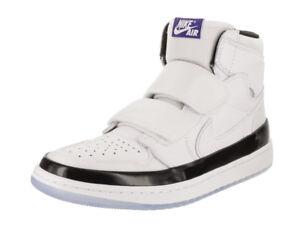 4cb6cd8cde3f Nike Jordan Men s Air Jordan 1 Re Hi Double Strp White Dark Concord ...