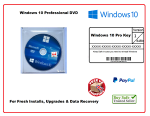 Microsoft-WINDOWS-10-Pro-PROFESSIONAL-64-bit-FULL-DVD-WITH-LICENSE-CODE-key