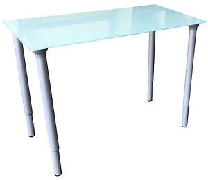 Ikea Vika Glasholm Glastisch Vika Kaj Beine Höhenverstellbar