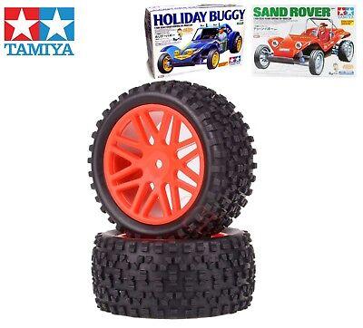 Carson All Terrain HI GRIP Tamiya wheels tyres DT02 DT03 Holiday Buggy black fri