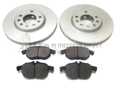 VAUXHALL VECTRA C 2002-2008 2.0 DTI FRONT 2 BRAKE DISCS AND PADS SET NEW