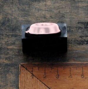 BACKFORM Kupferdruckstock Galvano Druckstock Klischee Jugendstil Kuchenform alt