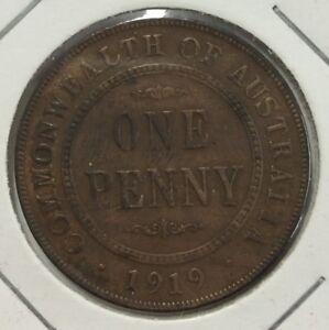 1919-Australian-penny-EF