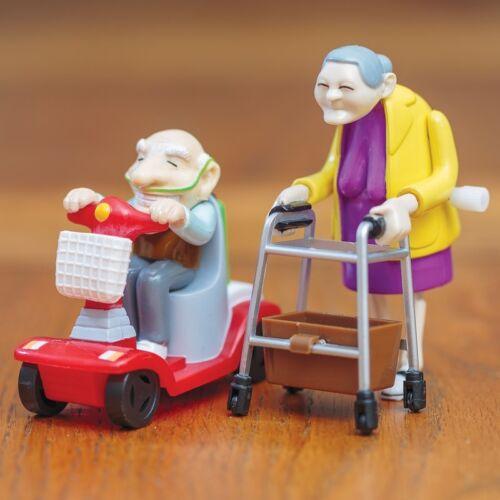 27470 Mécanisme Classique Enfants Partiel Course Grand-Mère et Grand-Père
