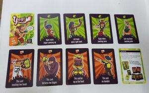 Details about Gigamic Sarl Yogi CARDS, Demo version Game, 8 cards & rules,  NEW pkg