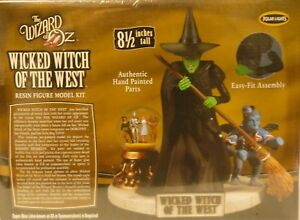 Wizard-Of-Oz-Wicked-Witch-Of-The-West-Pre-Painted-Figure-Set-W-Cyrstal-Ball