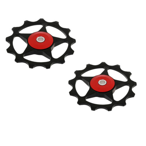 2Pcs 13T MTB Bearing Jockey Wheel Road Bike Bicycle Rear Derailleur Pulley
