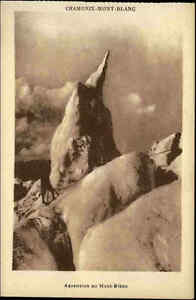 Chamonix-Mont-Blanc-France-CPA-1920-30-Ascension-au-Mont-Blanc-Aufstieg-Maenner