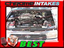 K&N+BLACK RED 88-95 TOYOTA PICKUP/4RUNNER 3.0 3.0L V6 COLD AIR INTAKE KIT