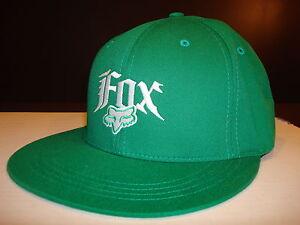 499c2083009 Image is loading Fox-Racing-Vertigo-Flexfit-Hat-Green-Small-Medium