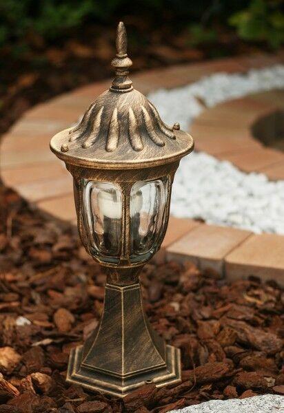 Aussenlampe jardín lámpara luz lámpara de jardín 838