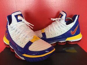 Nike LEBRON XVI superbron colorway Talla 10.5 ** RARA *** | eBay