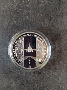 Pièce 10 Euro ALLEMAGNE 2009 D BE 100 Jahre Internationale Luftfahrtaus Stellung