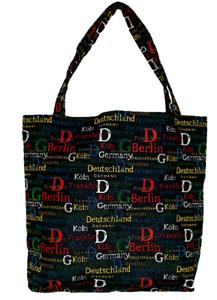 Deutschland-Staedte-Einkaufsbeutel-Berlin-Germany-Einkaufstasche-Shopper-Gobelin