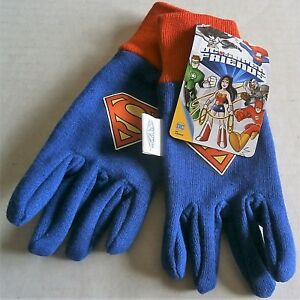 Yellow and Blue Kids Jersey Gloves by Midwest Glove Co