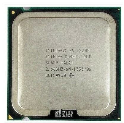 Intel Core 2 Duo E8200 CPU SLAPP 6M//1333//2.66GHz LGA 775 Processor