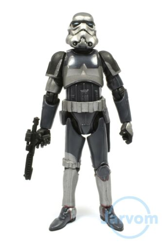 Star Wars 30th Anniversary Force Unleashed Shadow Stormtrooper Loose Complete