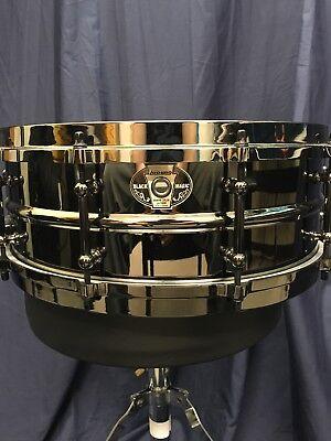 "Ludwig 14/"" X 5.5/"" Black Magic Snare Drum LW5514"