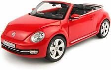 Volkswagen New Beetle Cabriolet 2012 Tornado Red KYOSHO 1:18 KY08812TR Model