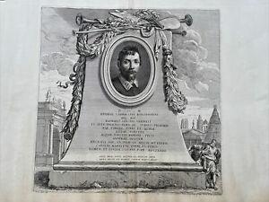 Funeral Monument Annibale Carracci Grabmal Architektur Pietro Aquila Rom 1674