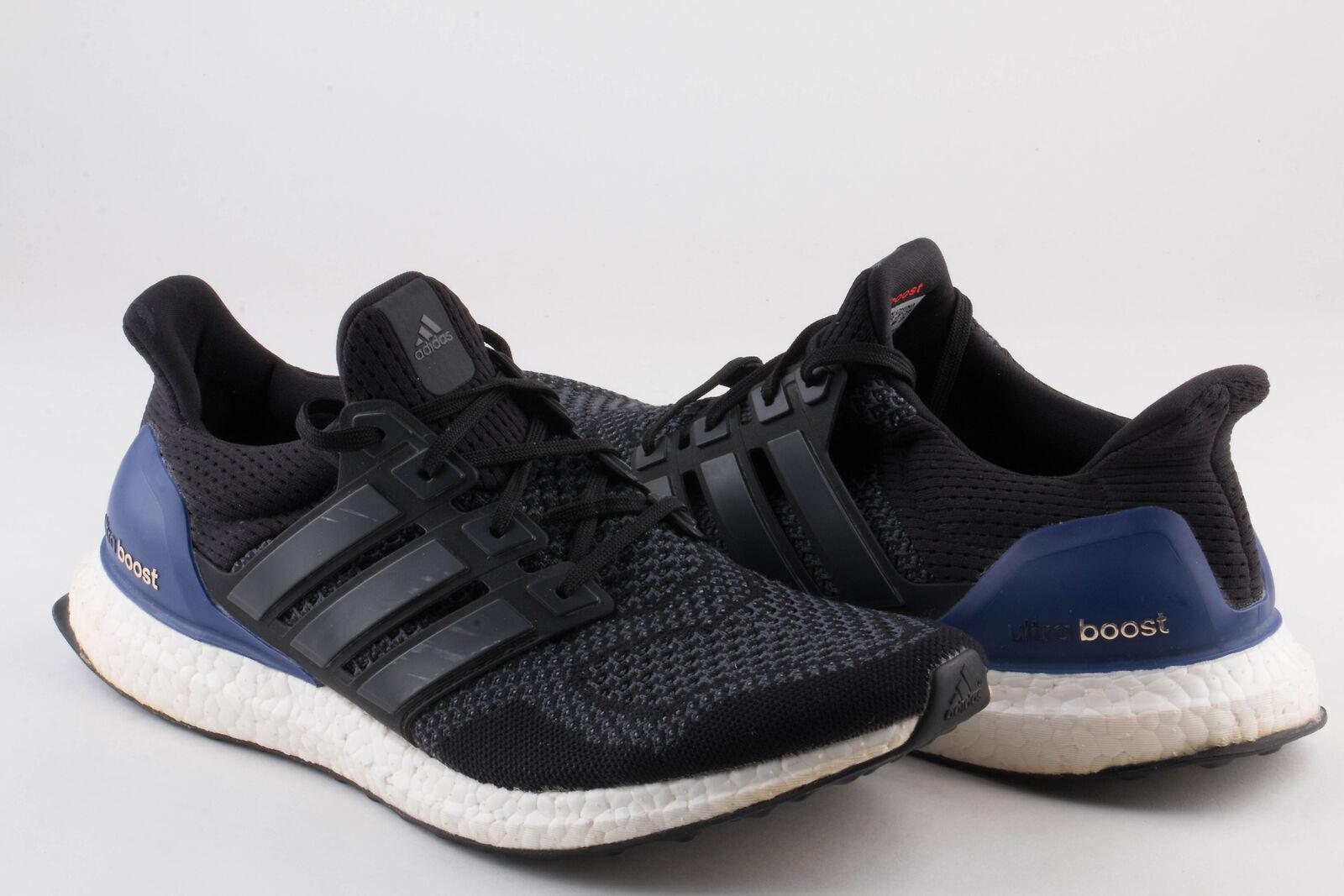 Adidas M Para Hombre Ultra Boost M Adidas og 1St Ultra Boost Negro/Púrpura B27171 Sz10.5 Seminuevo e1efe4