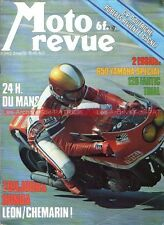 MOTO REVUE 2412 YAMAHA XS 650 Fantic 125 RC HONDA LEON CHEMARIN 24H du MANS 1979