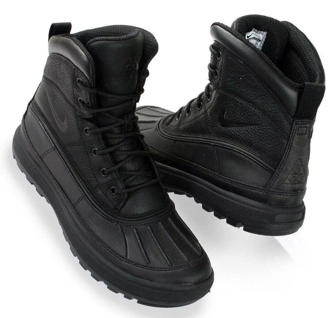 Nike Woodside II ACG Boots 'Triple Black' 525393-090 Size US 9.5