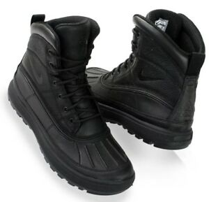 79d6db7aea725 Nike Woodside II ACG Boots 'Triple Black' 525393-090 Size UK 8.5 EU ...