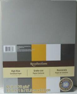 Recollections-Cartulina-Papel-8-1-5-1cm-x-27-9cm-50-Hojas-29-5kg-5-Color-Alto
