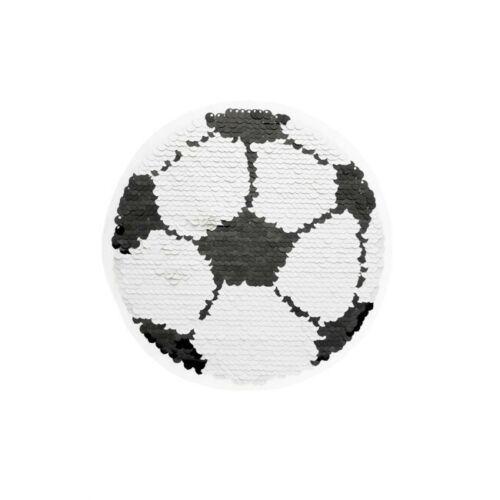 Wendepailletten Patches Aufnäher Pailletten Applikation Fußball