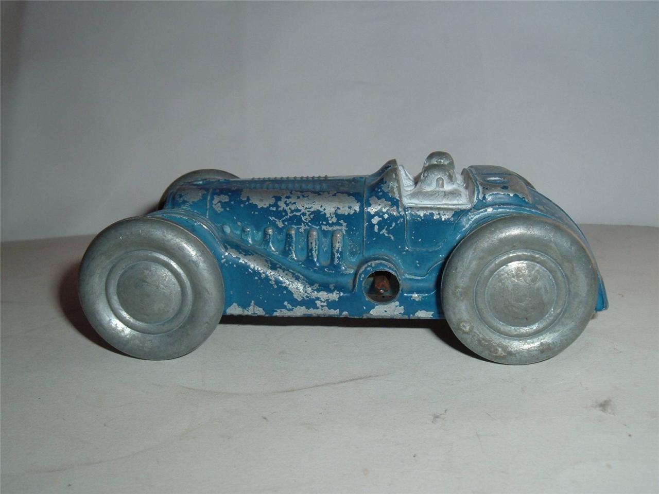 Alegría Castillo Arte Birmingham Brooklands Racer trabajo Motor Todo De Metal Vintage
