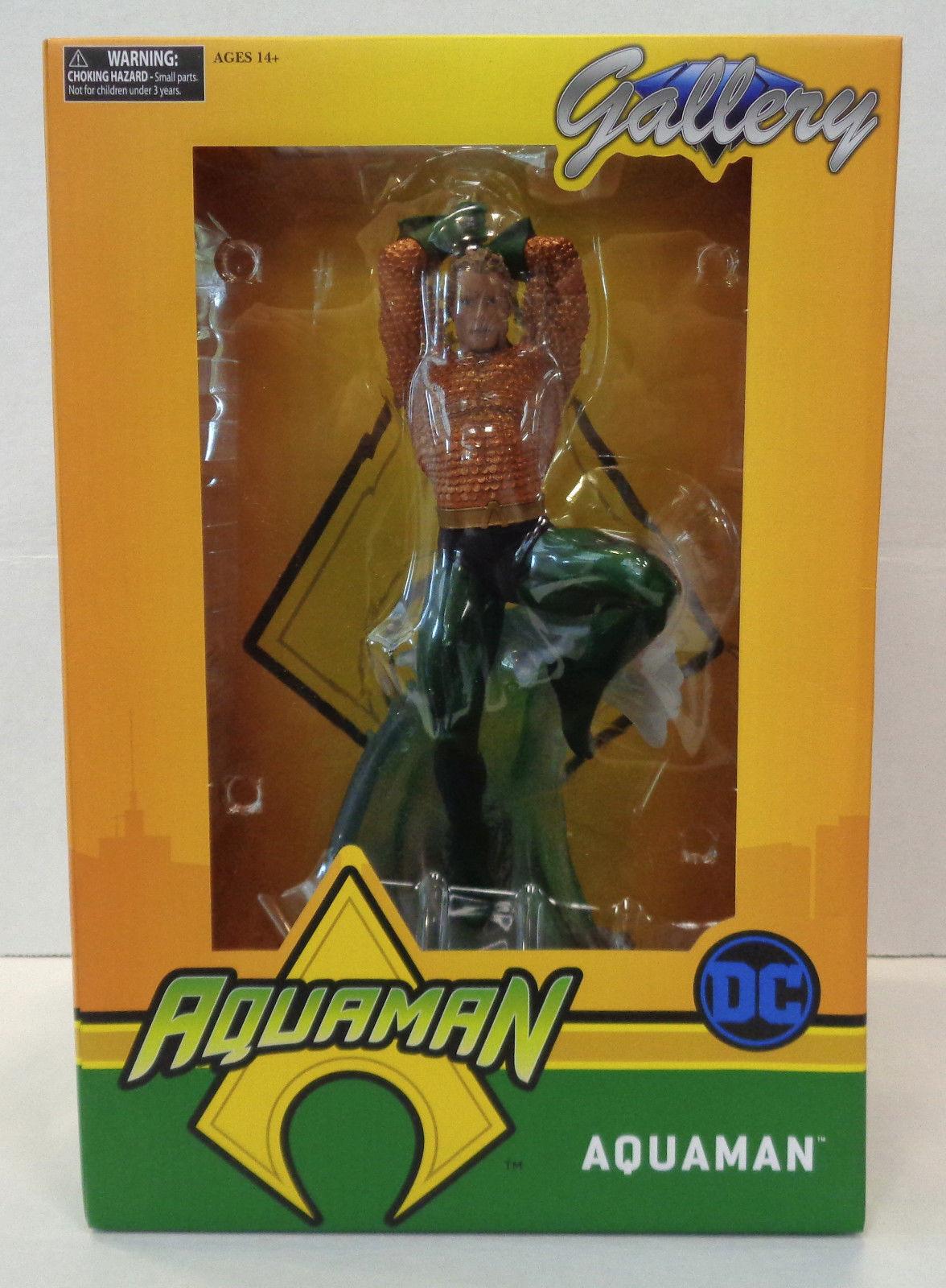 DC Comics Gallery Aquaman Classic Arthur Curry Statue Diamond Select Toy 2018