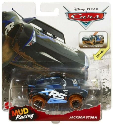 Disney Cars Mud Racing Diecast Jackson Storm Mattel SALE!!!!