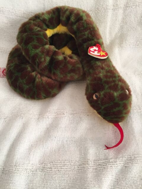 349fc5a5a68 Ty Slither The Snake Beanie Buddy for sale online