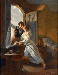 Regency Oil Painting
