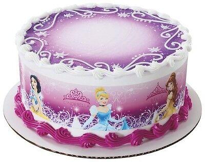Disney Princess Edible Cake Border Decoration by DecoPac- Set of 3 Strips