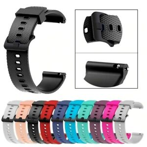 For Various SmartWatches Silicone Fitness Wrist Band Strap Gym Fitness