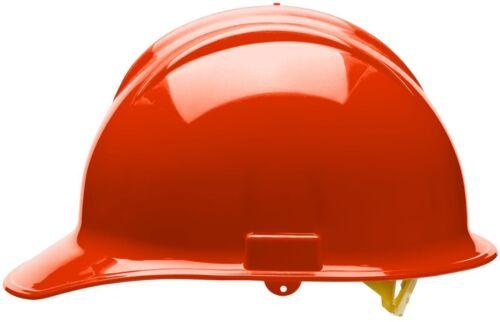Bullard Cap Style Hard Hat with 6 Point Pinlock Suspension, Hi-Vis Orange