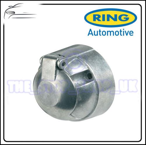 Ring Towbar Towing Caravan 12S 7 Pin Metal Socket A0022