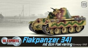 DRAGON-ARMOR-60644-Flakpanzer-341-with-2m-Flak-vierling-model-Germany-45-1-72nd