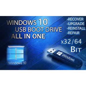 Details about WINDOWS 10 ALL VERSIONS Home Pro Enterprise UPGRADE USB 64/32  Bit PC INSTALL