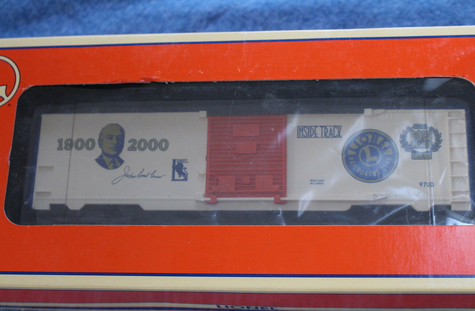 2000 lionel 6-19991 lionel railroader club Gold mitglied l2722 box - auto