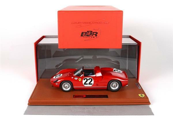 qualità ufficiale BBR Ferrari 250 P 24H Le uomos uomos uomos 1963 Parke  1 18 BBRC182  punto vendita