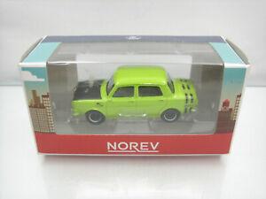 Diecast-Norev-Retro-Simca-1000-Rallye-3-Inch-Green-Mint-in-Box