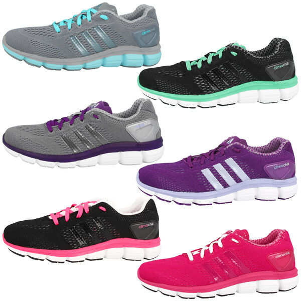 Zapatos promocionales para hombres y mujeres Adidas CC Ride W Climachill Damen Schuhe Laufschuhe Sneaker ClimaCool Running