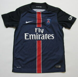 f1205dd47f9 PARIS SAINT-GERMAIN PSG home jersey shirt NIKE 2017-2018 BOY M 137 ...