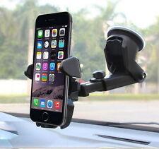 Car Windshield Mount Holder Long Neck 3.5/3.7/4/4.3/4.5/5/5.3/6 Inch Cellphone