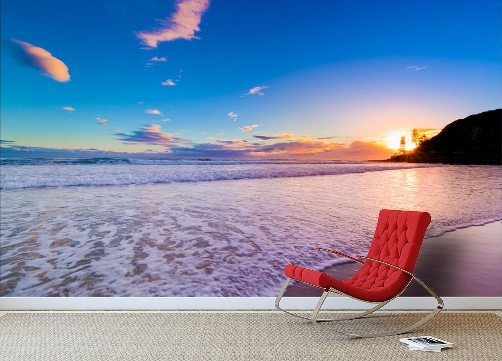 3D Beach skies 3411 Wall Paper Wall Print Decal Wall Deco Indoor Wall Murals