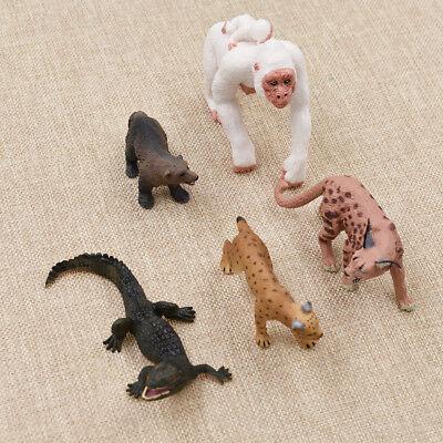 Mini Wild Animal Model Miniature Wildlife Figurines Fairy Garden Ornament