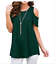 Plus-Size-Womens-Summer-Cold-Shoulder-Tee-Top-Short-Sleeve-Blouse-Casual-T-Shirt thumbnail 5